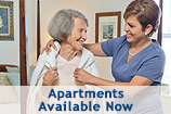 Personal Care Apartments Available at BV