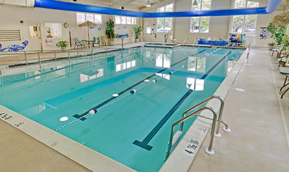 Indoor pool at Brethren Village