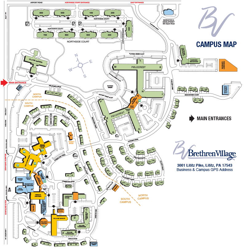 BV Campus Map